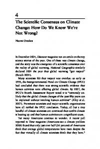 The Scientific Consensus on Climate Change: How Do We Know ...