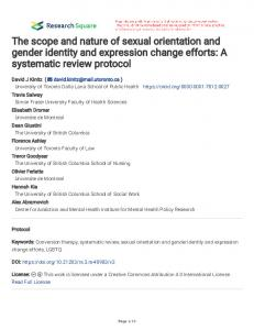 The scope and nature of sexual orientation and gender ...www.researchgate.net › publication › fulltext › The-scope