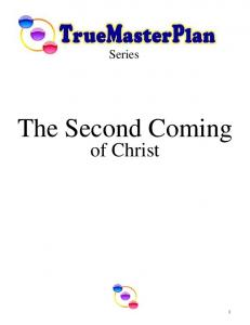 The Second Coming of Christ - True Parents Organization