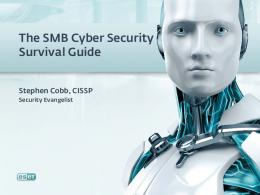 The SMB Cyber Security Survival Guide