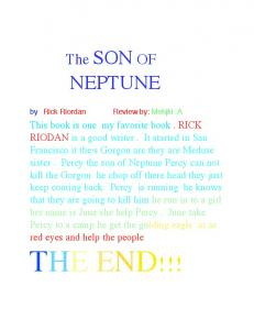 The Son of Neptune - Crystal Allen