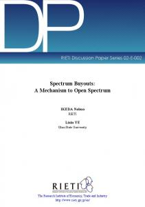 The Spectrum as Commons