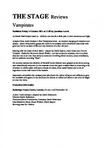THE STAGE: Vampirates - Scene Productions