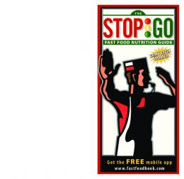 The Stop & Go Fast Food Nutrition Guide