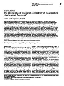 The structural and functional connectivity of the