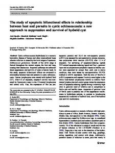 The study of apoptotic bifunctional effects in ... - Springer Link