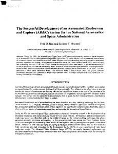 The Successful Development of an Automated ...