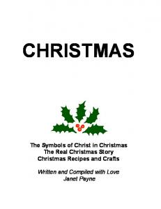 The Symbols of Christ in Christmas The Real Christmas Story ...