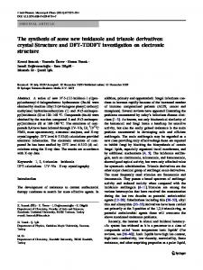 The synthesis of some new imidazole and triazole ... - Springer Link