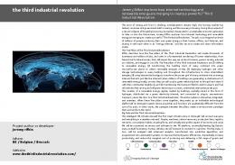 the third industrial revolution - Geographies of change