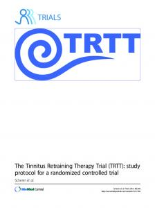 The Tinnitus Retraining Therapy Trial (TRTT): study protocol for a ...