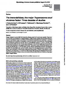 The trans-sialidase, the major Trypanosoma cruzi
