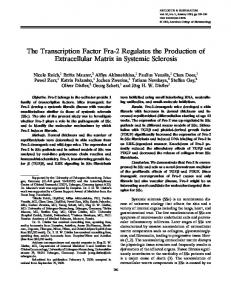 The transcription factor Fra-2 regulates the ... - Wiley Online Library