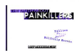The Truth About Painkillers booklet - Drug Free World