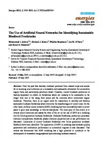 The Use of Artificial Neural Networks for Identifying ... - Semantic Scholar
