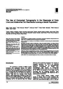 The Use of Computed Tomography in the Diagnosis ...