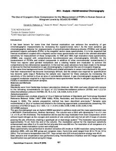 The Use of Cryogenic Zone Compression for the ... - CiteSeerX