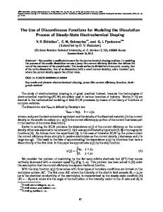 The Use of Discontinuous Functions for Modeling the ... - Springer Link