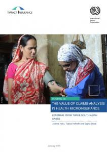 THE VALUE OF CLAIMS ANALYSIS IN HEALTH MICROINSURANCE