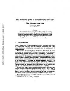 The vanishing cycles of curves in toric surfaces I