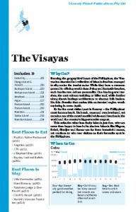 The Visayas - Lonely Planet