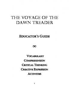 The Voyage of the Dawn TreadeR - CS Lewis Foundation