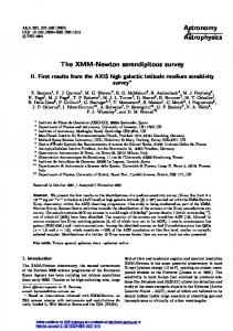 The XMM-Newton serendipitous survey