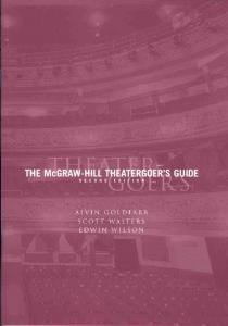Theater Goers Guide - McGraw-Hill