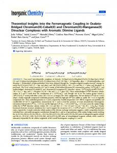 Theoretical Insights into the Ferromagnetic Coupling in Oxalato