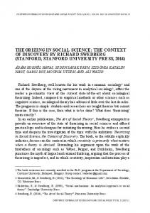 theorizing in social science