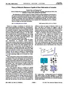 Theory of Dielectric Elastomers Capable of Giant