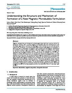 Theranostics Understanding the Structure and Mechanism of ...