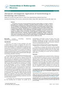 Therapeutic and Diagnostic Applications of ... - OMICS International