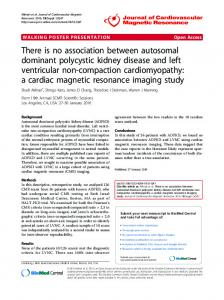 There is no association between autosomal dominant ... - Springer Link