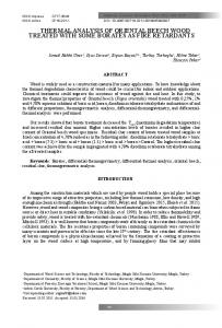 thermal analysis of oriental beech wood treated with some ... - SciELO