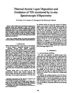 Thermal Atomic Layer Deposition and Oxidation of ...