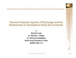 Thermal Protection System (TPS) - Solar System Exploration - NASA