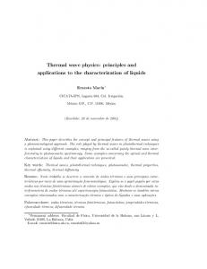 Thermal wave physics: principles and applications