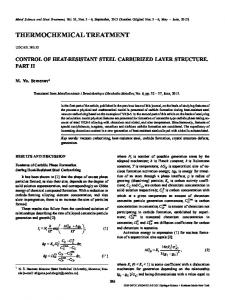 thermochemical treatment - Springer Link