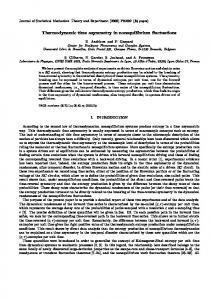 Thermodynamic time asymmetry in nonequilibrium fluctuations