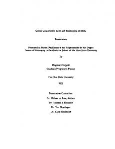 Thesis - Brookhaven National Laboratory