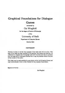 Thesis - Dr. Cai Wingfield