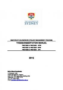 Thesis Guide