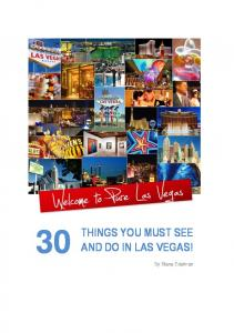things you must see and do in las vegas! - Lasvegasweddings.com.au
