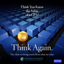Think You Know the Value of a CPA?