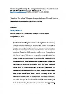 This is an Accepted Manuscript of an article published ...