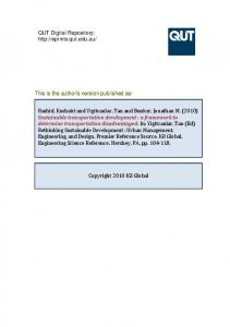 This is the author's version published as: Catalogue ... - QUT ePrints