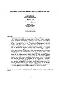 This paper presents fmdings from an action research project designed