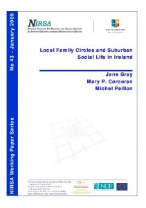 This paper presents some preliminary findings on the different ...