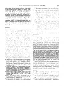 Thrombolytic therapy or surgery as management of prosthetic valve ...